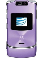 Motorola Razr V3xx Purple Cell Phones RB
