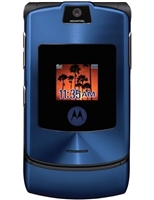 Motorola V3i Blue Cell Phones RB
