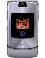 Motorola V3i Silver Cell Phones RB