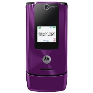 WHOLESALE MOTOROLA W490 PURPLE T-MOBILE GSM UNLOCKED, FACTORY REFURBISHED