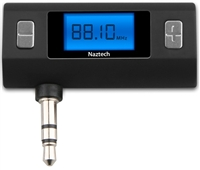 WHOLESALE NEW NAZTECH N3030 UNIVERSAL FM TRANSMITTER 3.5MM ALL DEVICES