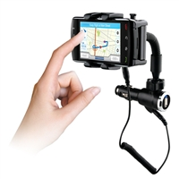 WHOLESALE NEW NAZTECH N4000 UNIVERSAL PHONE CAR MOUNT AND CHARGER