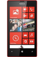 Nokia Lumia 520 Black & Red Cell Phones RB