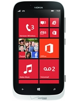 Nokia Lumia 822 White 4G LTE Verizon / PagePlus Cell Phones RB