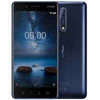 WholeSale Nokia 8 64GB Blue, Android v7.1 (Nougat), 2.5 GHz Mobile Phone