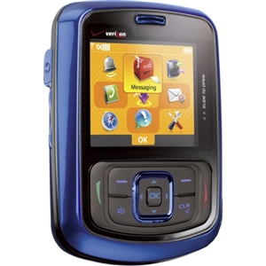 WHOLESALE, PANTECH BLITZ BLUE QWERTY SLIDER VERIZON PAGE PLUS RB