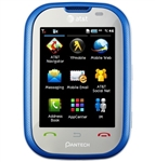 WHOLESALE PANTECH PURSUIT P9020 BLUE 3G GSM UNLOCKED AT&T, FACTORY REFURBISHED