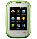 WHOLESALE PANTECH PURSUIT P9020 GREEN 3G GSM UNLOCKED AT&T, FACTORY REFURBISHED
