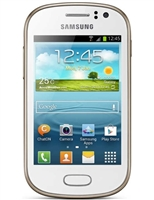 Samsung Galaxy Fame S6810 White Cell Phones RB