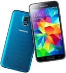 Samsung Galaxy S5 G900a Blue 4G LTE Unlocked Cell Phones RB