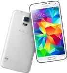 Samsung Galaxy S5 G900a White 4G LTE Carrier Returns A-Stock Unlocked Cell Phones