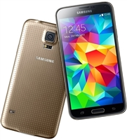 Wholesale Samsung Galaxy S5 G900T GOLD 4G LTE Cell Phones RB