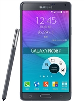 Samsung Galaxy Note 4 N9100 BLACK Duos 4G LTE Black GSM Unlocked Cell Phones