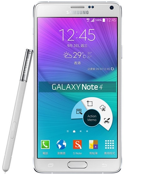 Samsung galaxy note 4 n9100 white duos 4g lte gsm unlocked cell phones