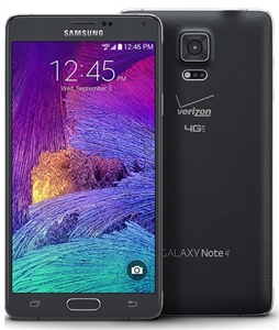 Samsung Galaxy Note 4 N910V 4G LTE Black Verizon / PagePlus GSM Unlocked Cell Phones