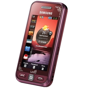 WHOLESALE NEW SAMSUNG S5230 TOCCO LITE TOUCHSCREEN LA-FLEUR GARNET RED GSM UNLOCKED