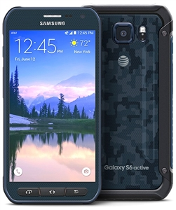 Samsung Galaxy S6 Active G890a BLUE 4G LTE Cell Phones RB