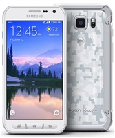 Samsung Galaxy S6 Active G890a WHITE 4G LTE Cell Phones RB