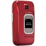 WHOLESALE CELL PHONES, SAMSUNG T229 RED GSM UNLOCKED, CARRIER RETURNS A- STOCK