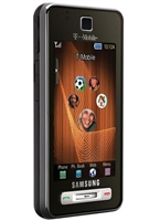 Samsung Behold T919 Brushed Espresso Brown 4G Cell Phones RB