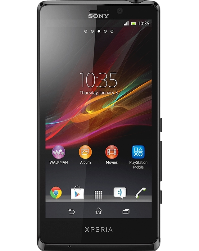Sony Xperia XZ3 30 Aug The Sony Xperia XZ3 is a high-end Android flagship phone - and the company's first to come with an OLED display. With 6 inches of screen space, HDR support, and front stereo speakers, the XZ3 is designed to be a capable multimedia device.
