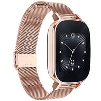 Wholesale ASUS ZenWatch 2 (WI502Q) Stainless Steel Case Gold Metal Milanese Loop