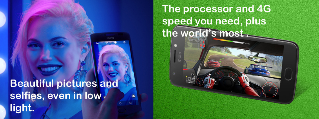 New Motorola Moto E4 Plus 32GB Phone Wholesale   Gold