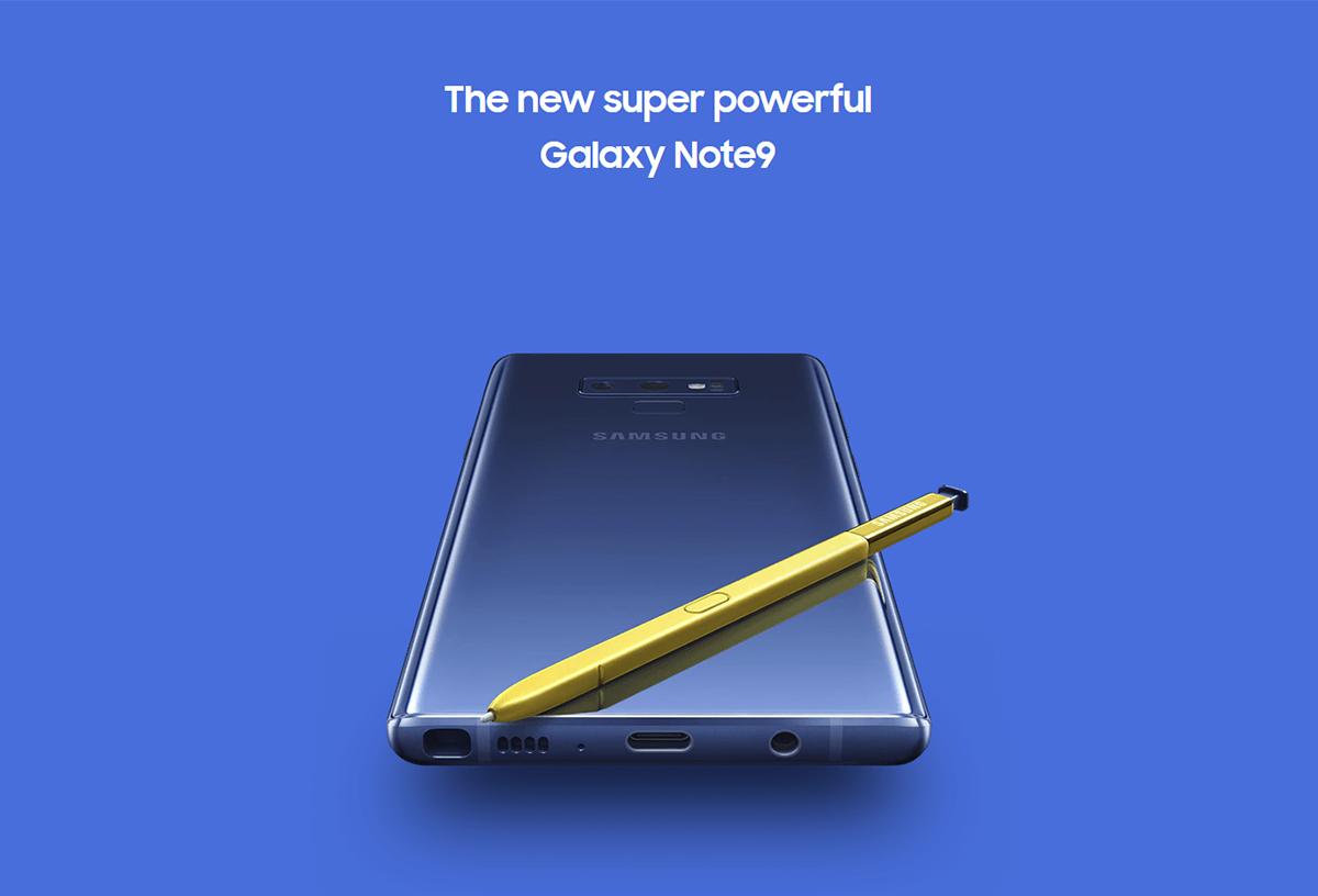 New Samsung Galaxy Note 9 N960 Wholesale Ocean Blue