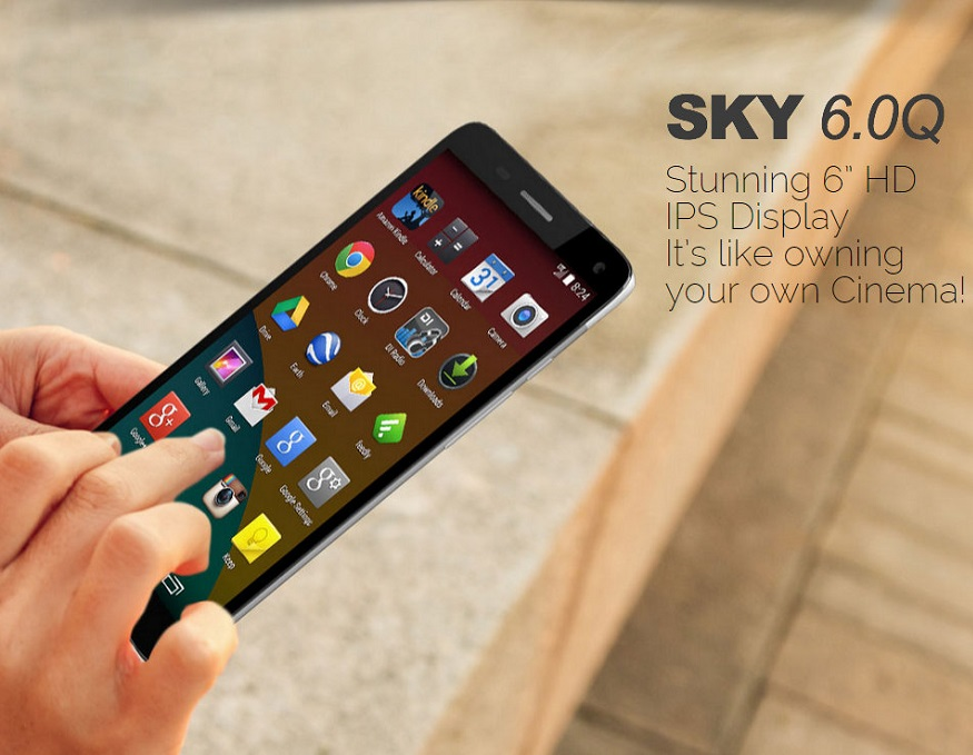 Wholesale Brand New Sky 6 0q Black 4g Android Gsm Unlocked