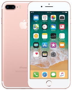 Apple iPhone 7+ 32GB Rose Gold 4G LTE RB Unlocked Cell Phones Factory Refurbished