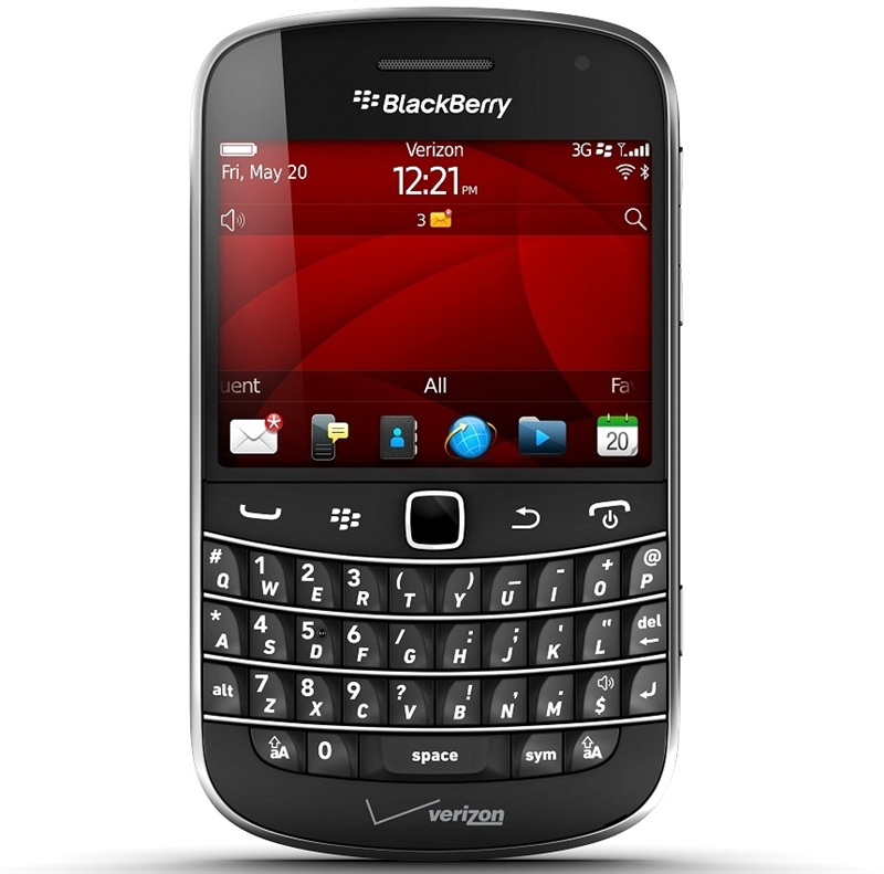 Validating email on blackberry bold