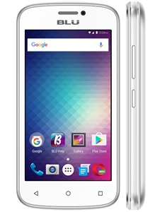 New Blu Advance 4.0M A090U WHITE 4G Cell Phones