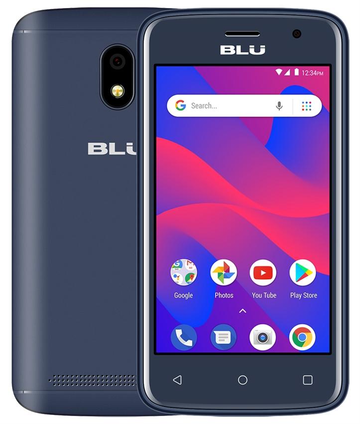 New BLU C4 C050U 3G Android Phone Wholesale   Blue
