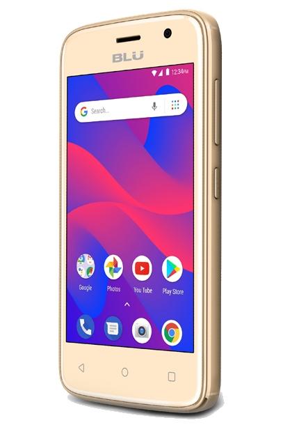 New BLU C4 C050U 3G Android Phone Wholesale   Gold