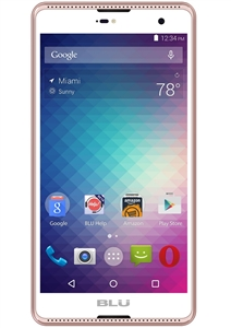 New BLU GRAND 5.5 HD G030u 4G ROSE GOLD Cell Phones
