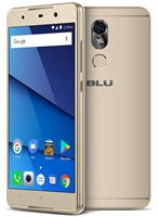 New BLU GRAND 5.5 HD II G210Q 4G GOLD Cell Phones