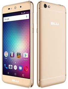 New BLU GRAND MAX G110Q 4G GOLD Cell Phones