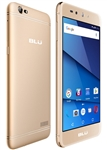 New BLU GRAND X LTE G0010WW 4G GOLD Cell Phones
