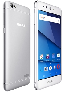 New BLU GRAND X LTE G0010WW 4G SILVER Cell Phones