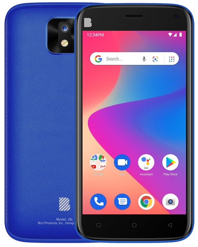 New BLU J5L Android Phone Wholesale | Blue