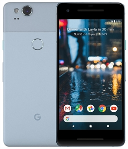 Wholesale New GOOGLE PIXEL 2 BLUE 64GB 4G LTE GSM Unlocked Cell Phones