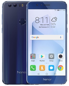 Wholesale HUAWEI HONOR 8 BLUE 64GB 4G LTE GSM UNLOCKED Cell Phones