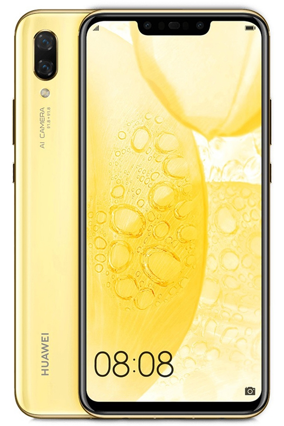 New Huawei Nova 3 128gb 4g Lte Android Phone Wholesale Gold