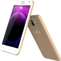 Wholesale Brand New HYUNDAI E502 3G GOLD ANDROID GSM UNLOCKED