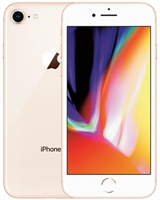 APPLE IPHONE 8 64GB GOLD 4G LTE GSM UNLOCKED Mobile Cell Phones A-Stock