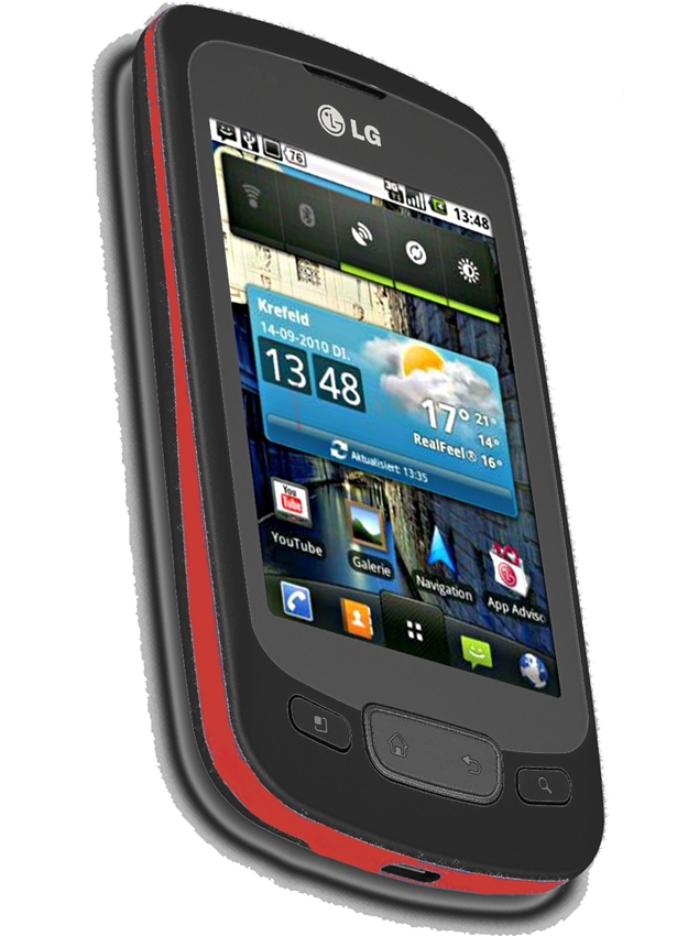 wholesale lg optimus one p500 red gsm unlocked cell phones factory rh todayscloseout com LG Cell Phone Operating Manual LG Cell Phone Operating Manual