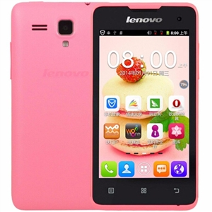 WholeSale Lenovo A396 Pink Quad-core Android 2G Mobile Phone