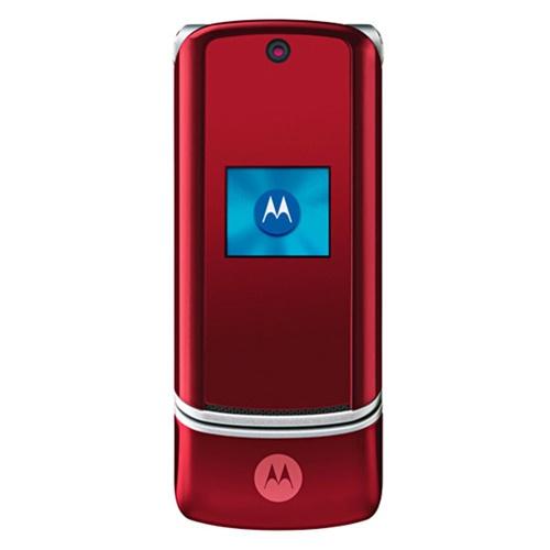 new motorola krzr k1 red gsm unlocked cell phone wholesale liquidation rh todayscloseout com Motorola SLVR Motorola RAZR2