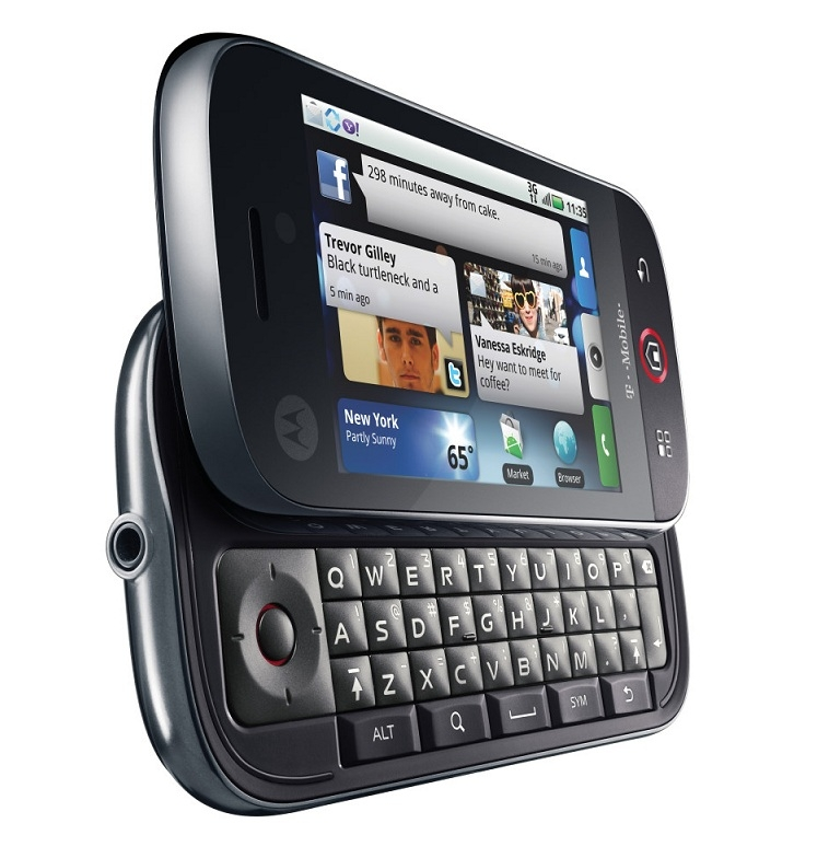 T-Mobile Motorola CLIQ XT on sale now - Android Community