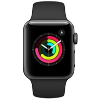 Wholesale Apple Watch Series 3 - 42mm Gray Aluminum GPS watch OS 4 MQL12